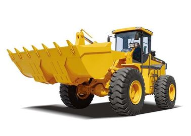 Soil Grading Equipment Wheel Loader 16.2 Ton Operating Weight Payloader