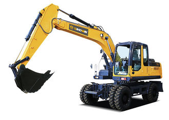 19ton Soil Moving Machinery Mobile Excavator