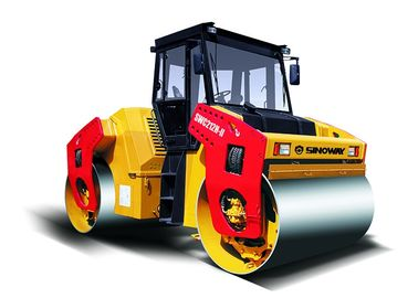 12 ton Hydrostatic Transmission Double Drum Vibratory Road Roller for road building