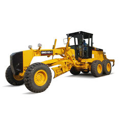 Articulated Frame Soil Moving Equipment 165hp Road Grader For Road Construction