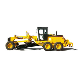 Hydraulic Brake Control Earth Moving Machines With Front Blade And Rear Ripper